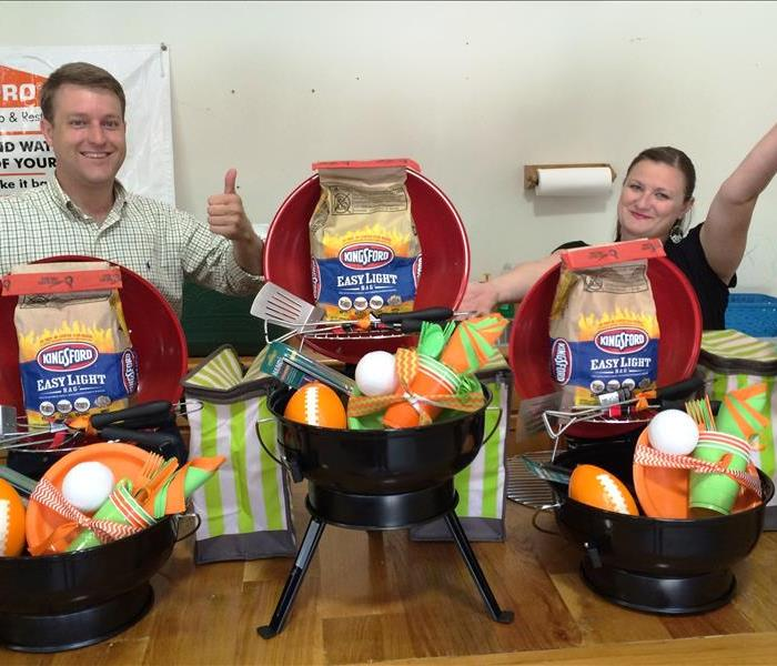 Marketing Team with Fall Tailgating Packages