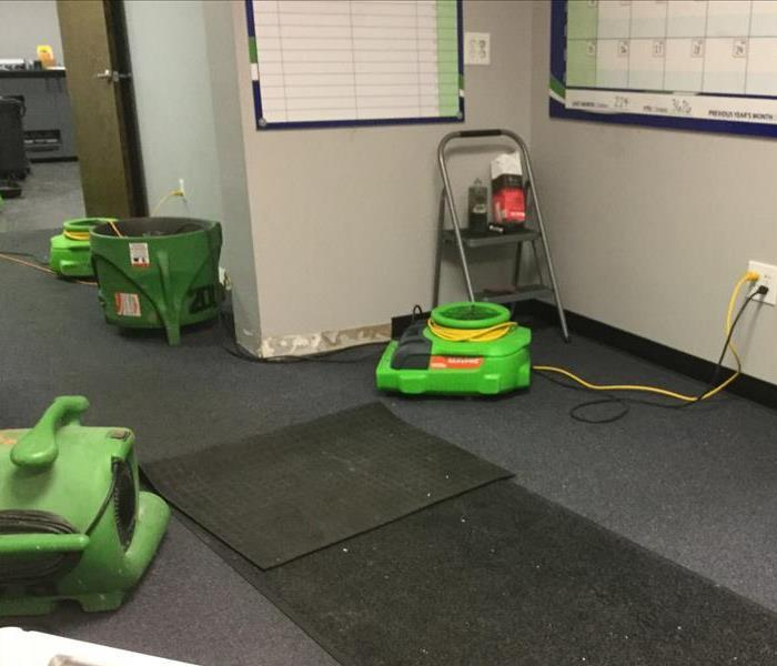 Commercial SERVPRO of Marietta West are Commercial Drying Specialists
