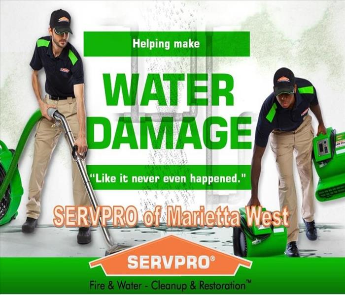 Water Damage How SERVPRO addresses water damage in your Kennesaw home or business